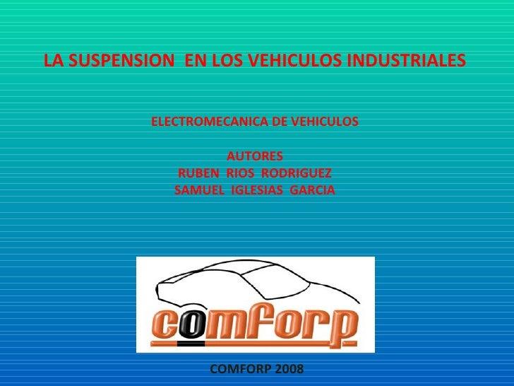 Suspensión camiones 45 pág c