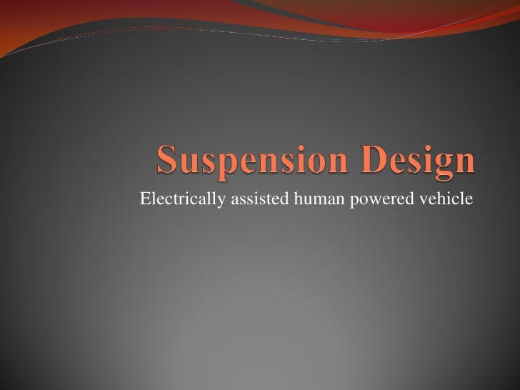 Electrically assisted human powered vehicle