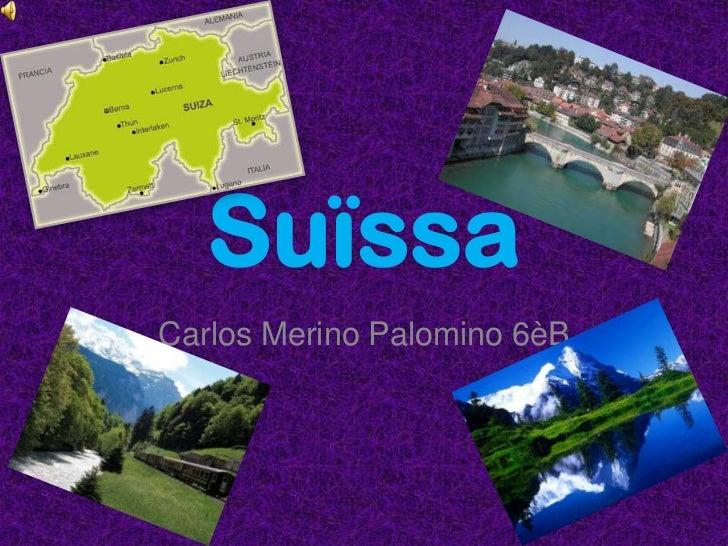 SuïssaCarlos Merino Palomino 6èB