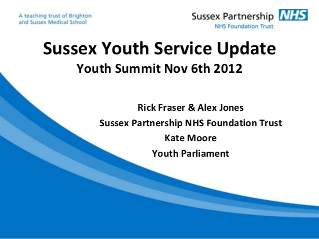 Sussex Youth Mental Health Pilot