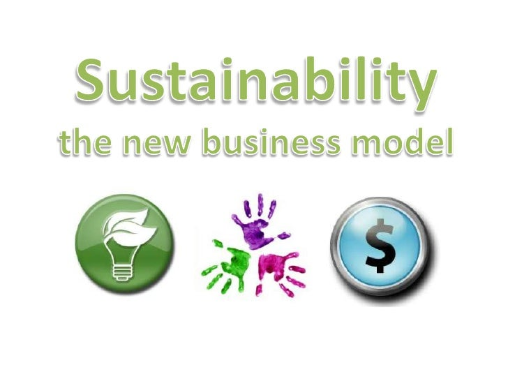 Sustainability as a business model