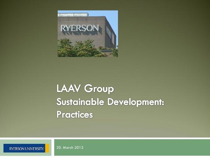 Sustainability group presentation part of Alexander Belyakov