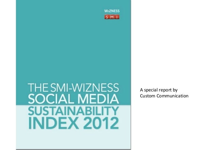 Sustainability index 2012