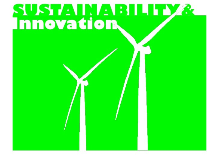 SUSTAINABILITY& Innovation