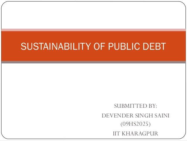 Sustainability of public debt presentation. (1)