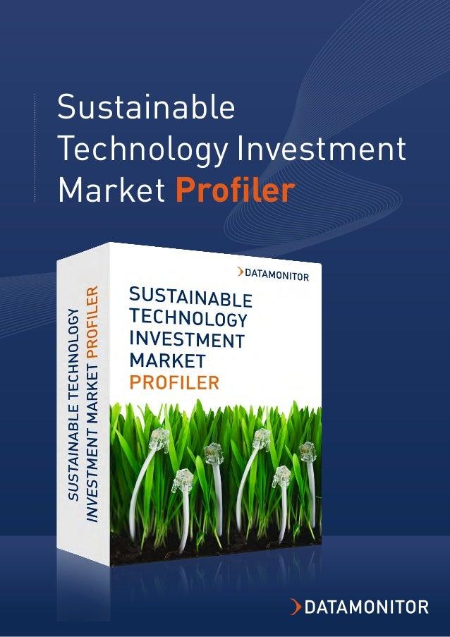 Sustainable Technology Investment Market Profiler