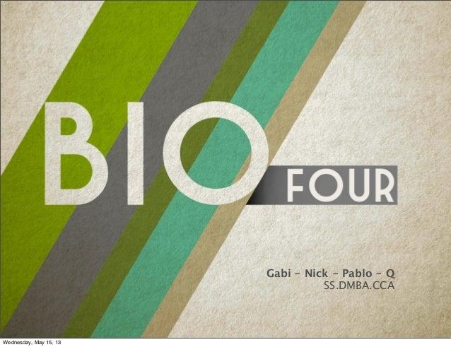 Sustainability Studio Deck : Biophilia