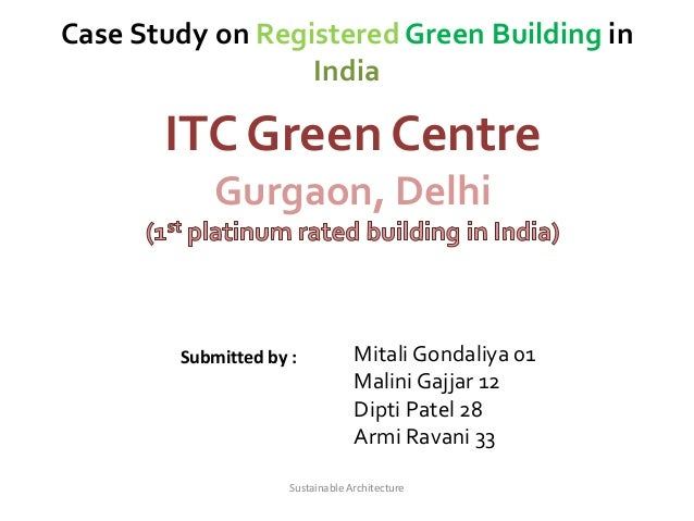 green building in india case study