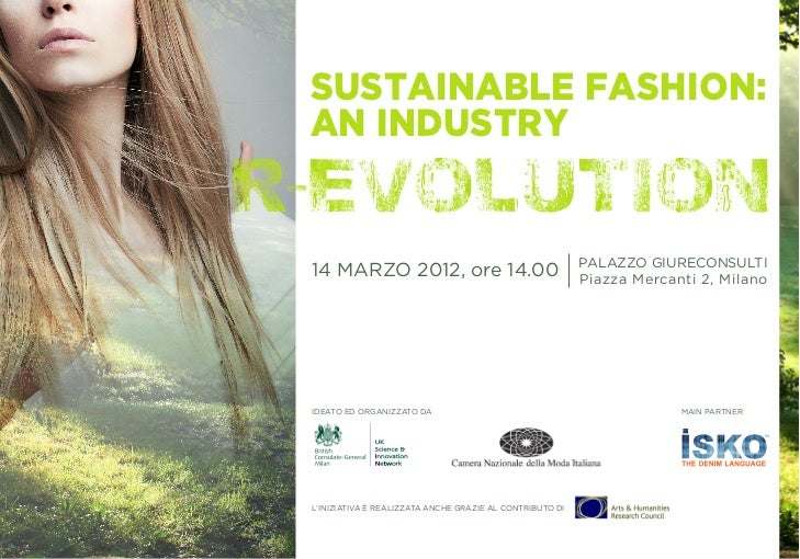 Sustainable Fashion:an industry                                                                                    Palazzo...