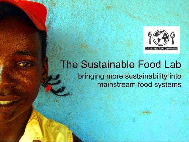 Sustainable Food Lab