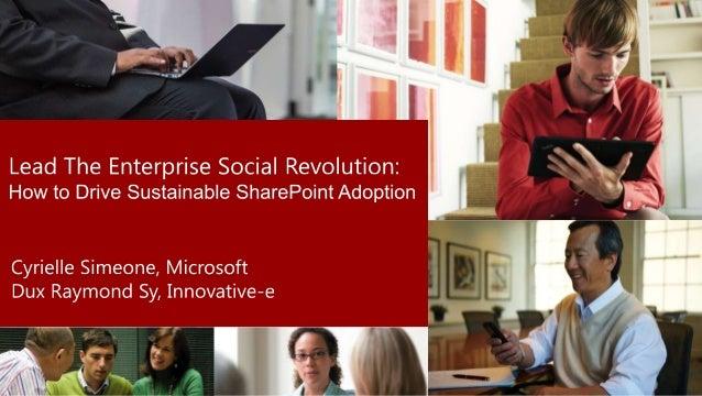The Enterprise Social Revolution is Here