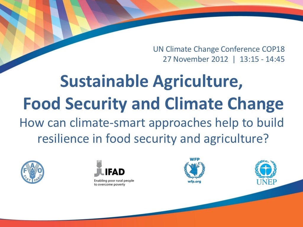 climate change and food security 565 food security and vulnerability a number of studies have quantified the impacts of climate change on food security at regional and global scales (eg.