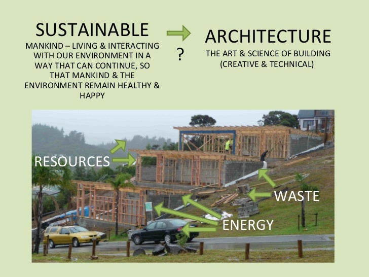 Sustainable Architecture Ppt