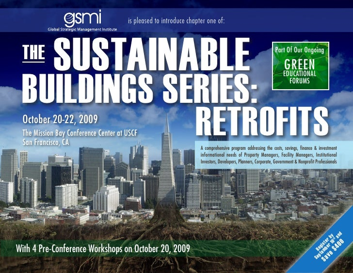 The Sustainable Buildings Series: Retrofits