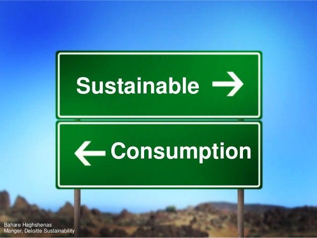Sustainable Consumption_Deloitte Sustainability