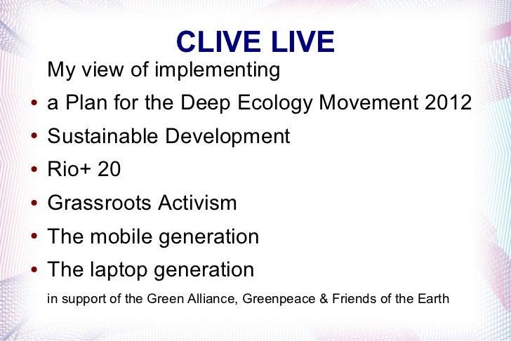 Sustainable development 2012 stuff 2
