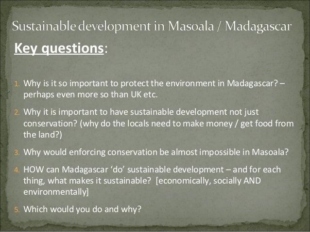 Sustainable development in Masoala / Madagascar