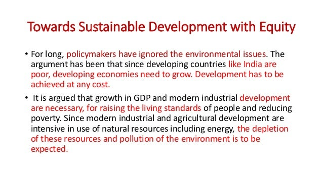 Sustainable Development Of Natural Resources In Hindi
