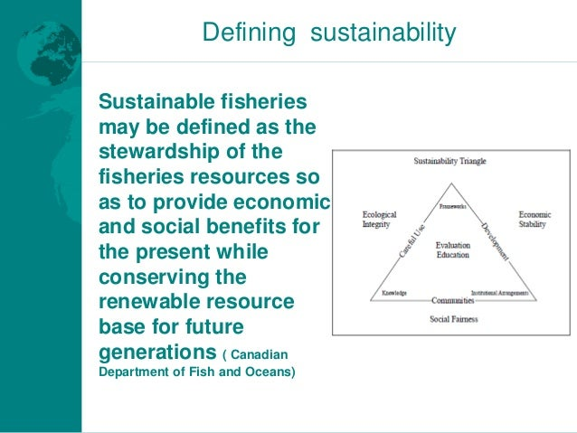 sustainable fisheries in the indian context