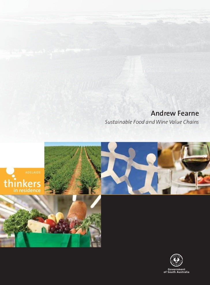 Andrew FearneSustainable Food and Wine Value Chains