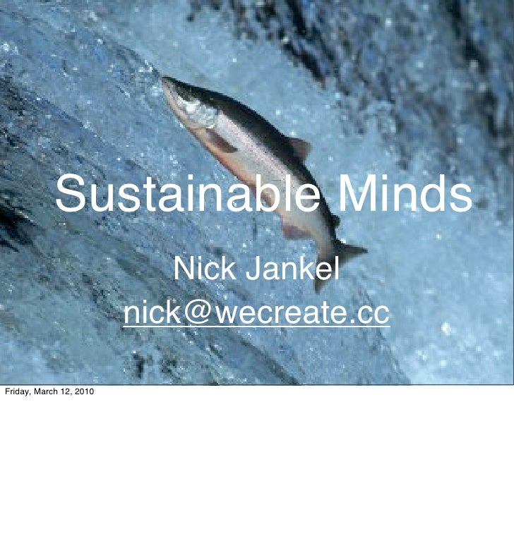 Sustainable  Minds
