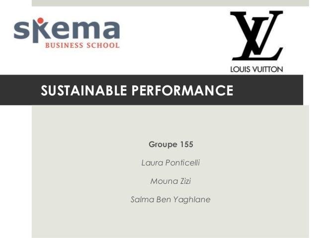 SUSTAINABLE PERFORMANCE  Groupe 155 Laura Ponticelli Mouna Zizi  Salma Ben Yaghlane