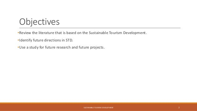 Literature review on sustainable development