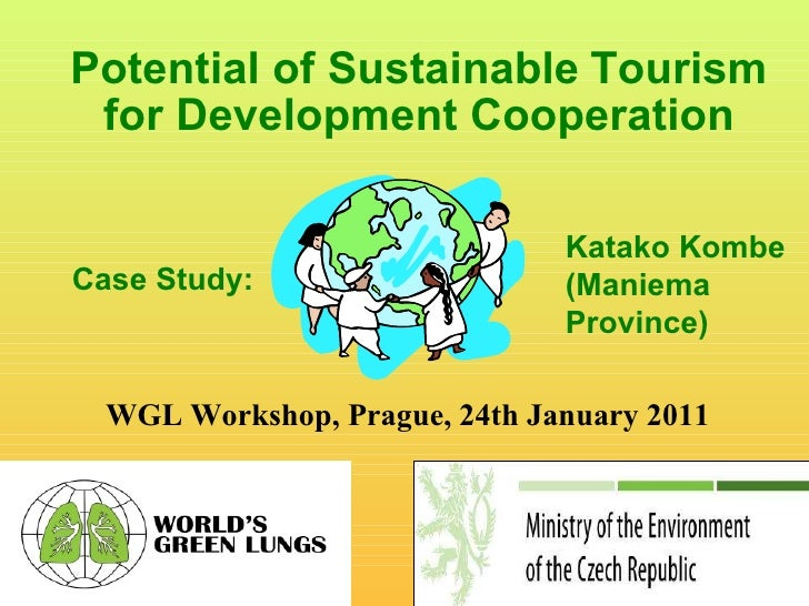 Sustainable tourism potential for maniema