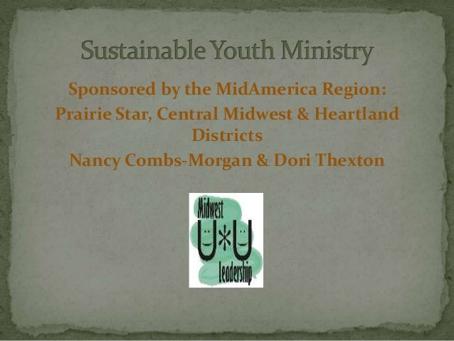 Sustainable youth ministry webinar 2011-10-06