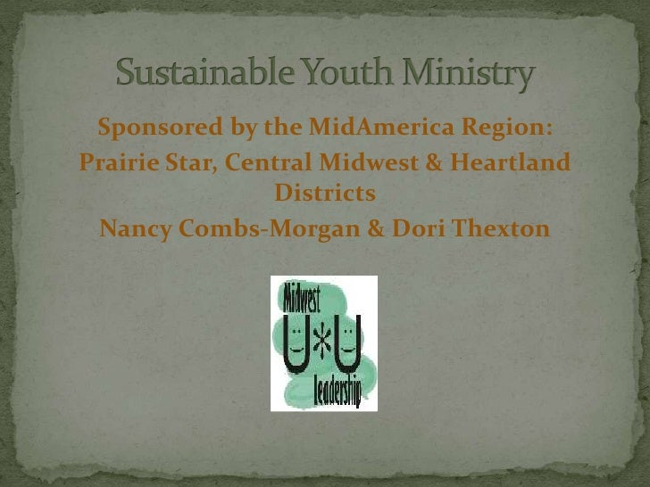 Sustainable youth ministrywebinar(2)