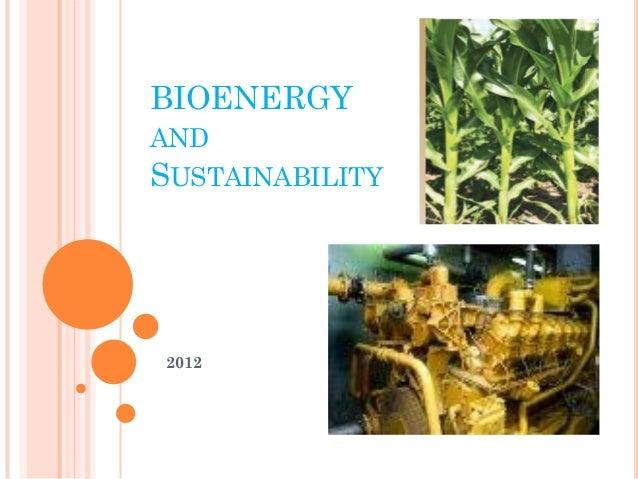 Sustain bioenergy india