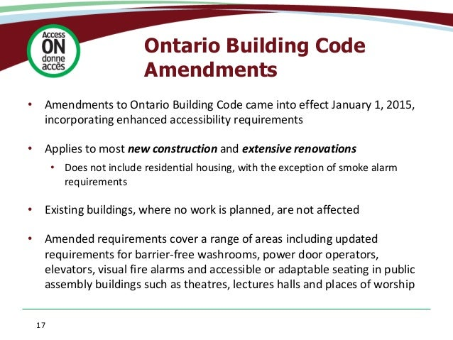 Ontario Building Code Illustrated Images