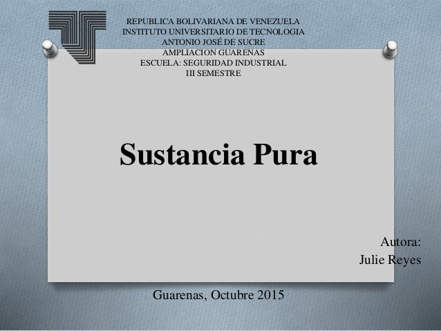 REPUBLICA BOLIVARIANA DE VENEZUELA INSTITUTO UNIVERSITARIO DE TECNOLOGIA ANTONIO JOSÉ DE SUCRE AMPLIACION GUARENAS ESCUELA...