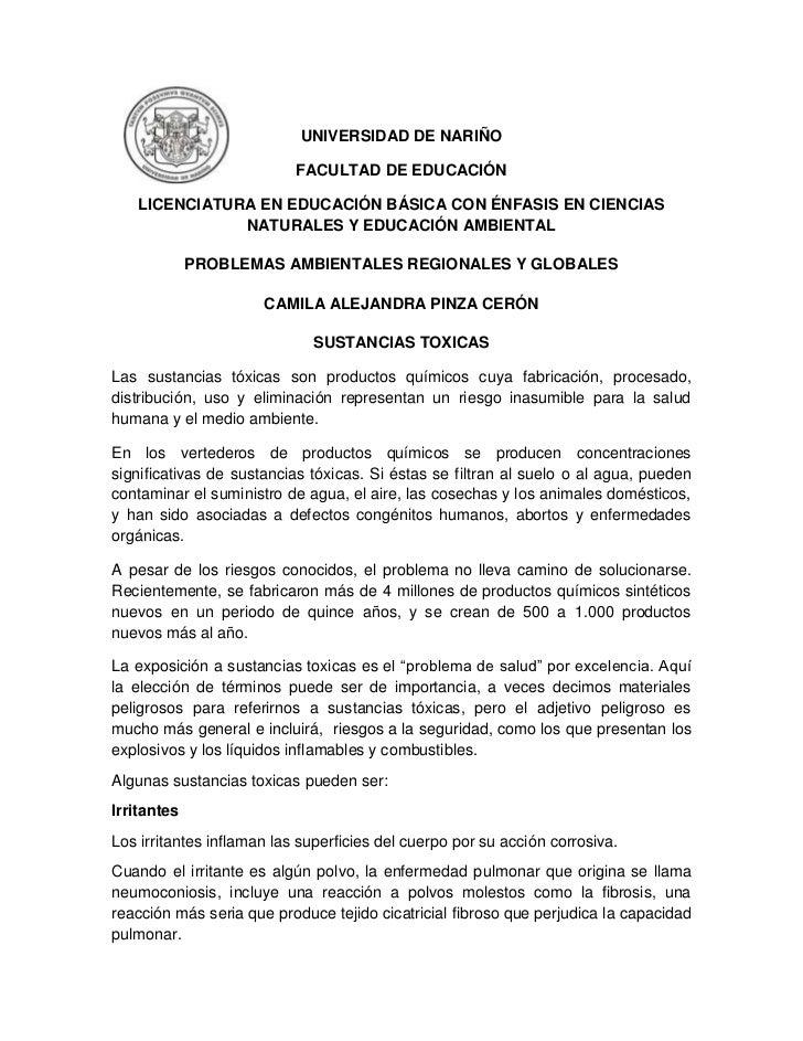 UNIVERSIDAD DE NARIÑO                           FACULTAD DE EDUCACIÓN   LICENCIATURA EN EDUCACIÓN BÁSICA CON ÉNFASIS EN CI...