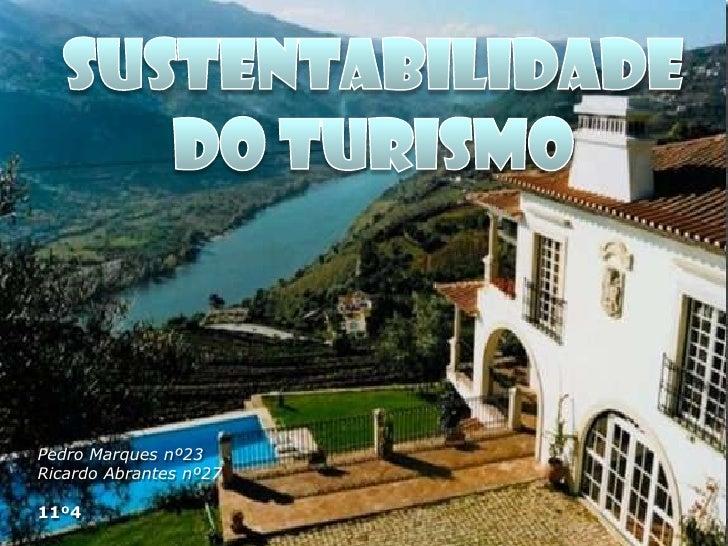 Sustentabilidade do turismo 11 4