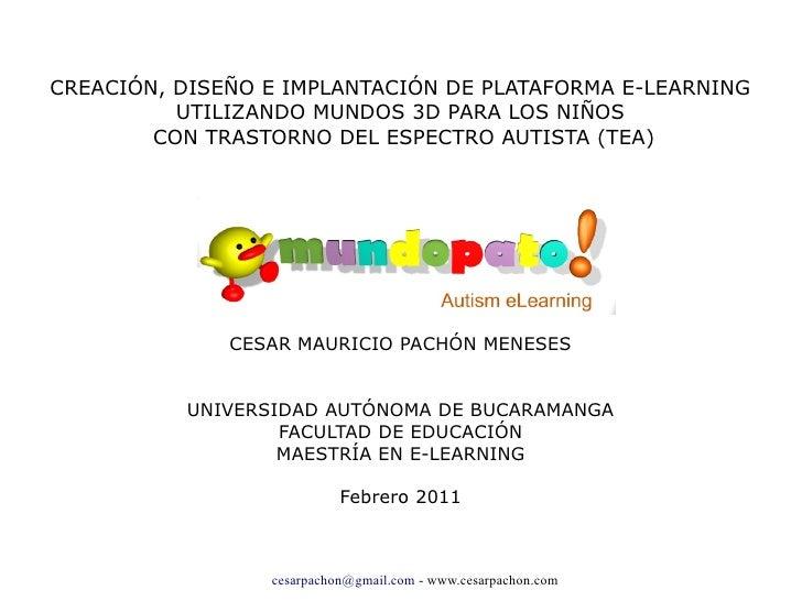Sustentacion tesis maestría e-learning