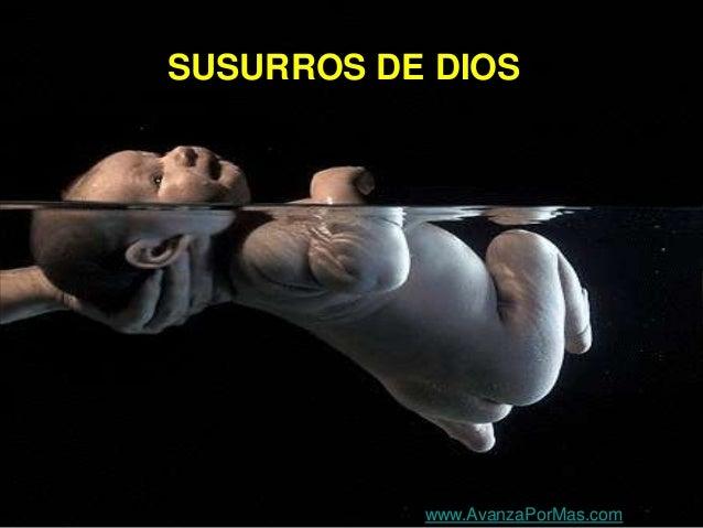 SUSURROS DE DIOS www.AvanzaPorMas.com