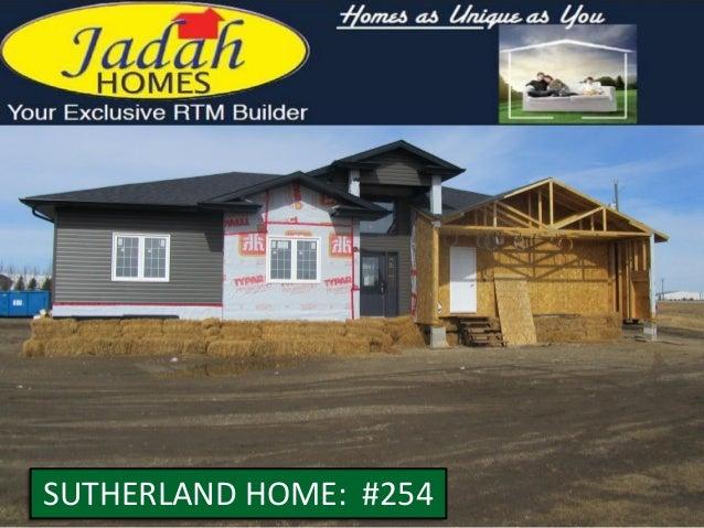 SUTHERLAND HOME: #254