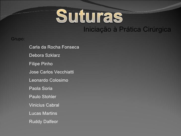 Suturas(1)[1].ppt  trabalho