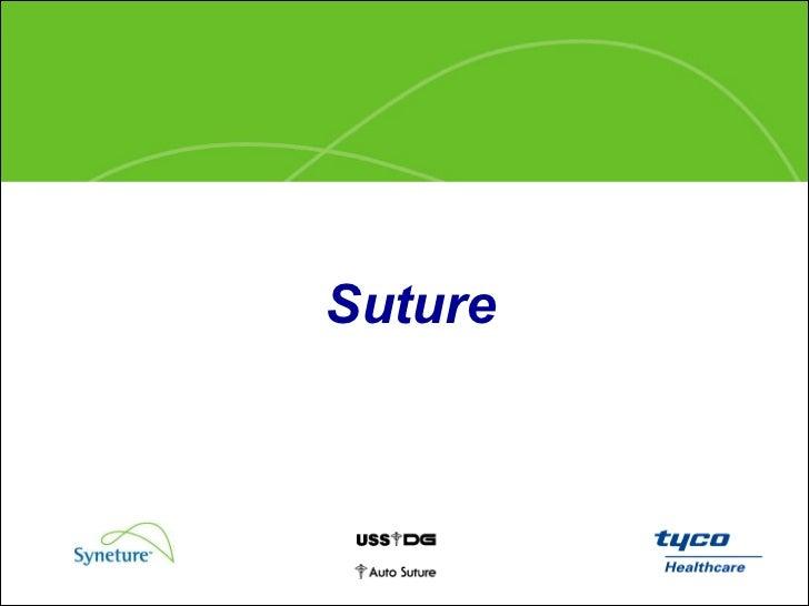Suture