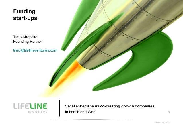 SUW Funding StartUps, Timo Ahopelto