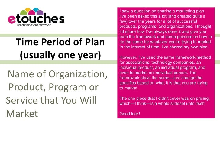 Suzanne Carawan Generic Marketing Plan Template