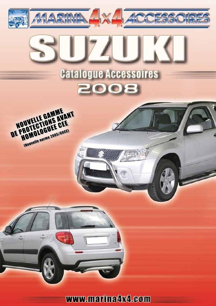 Suzuki 2008 autoprestige-accessoires-4x4
