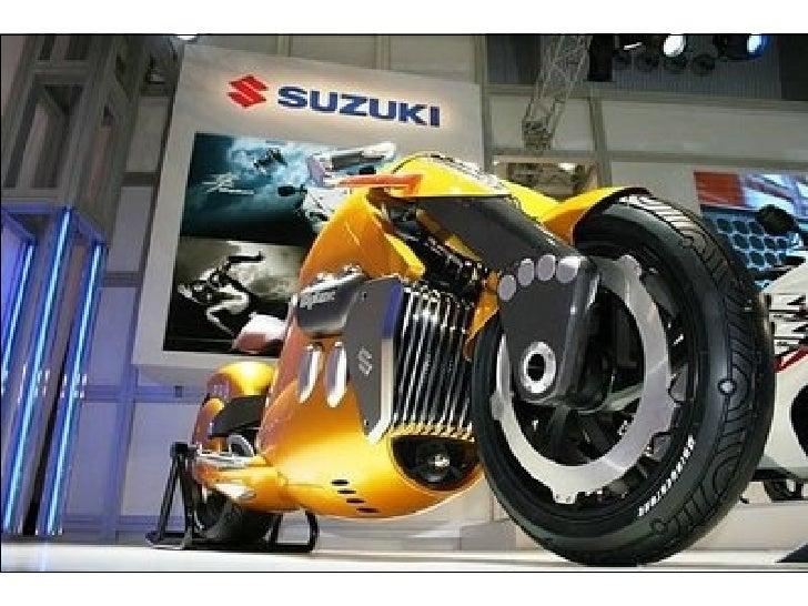 Suzuki Biplane Motorcycle