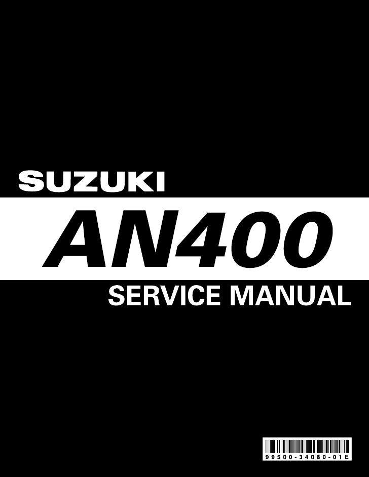 Suzuki burgman 400 2003