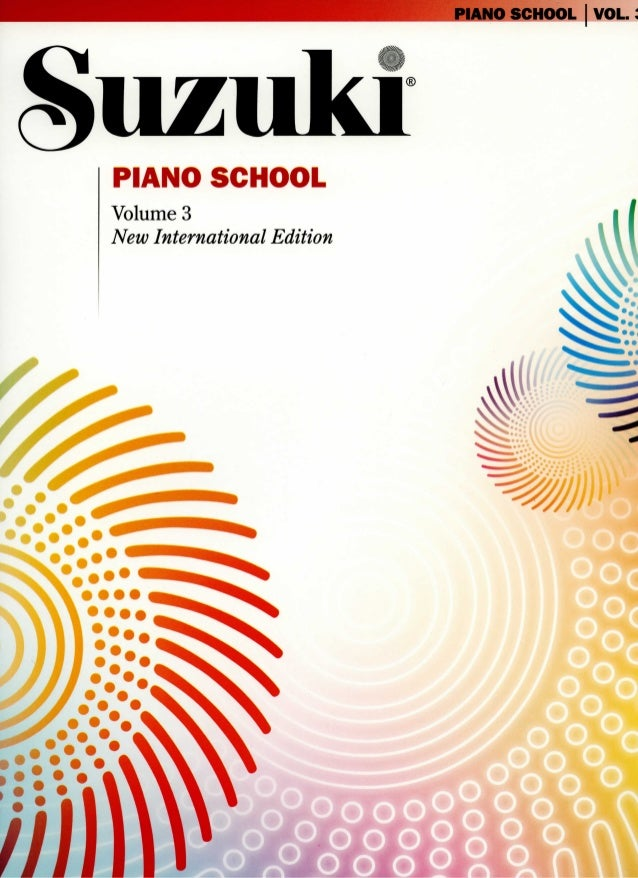 Suzuki Piano School Volume