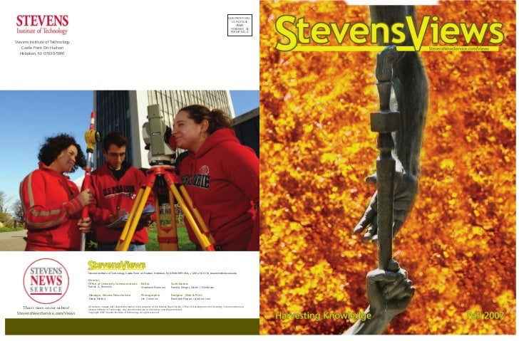 StevensViews, Fall 2007