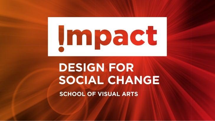 SVA Impact! Design