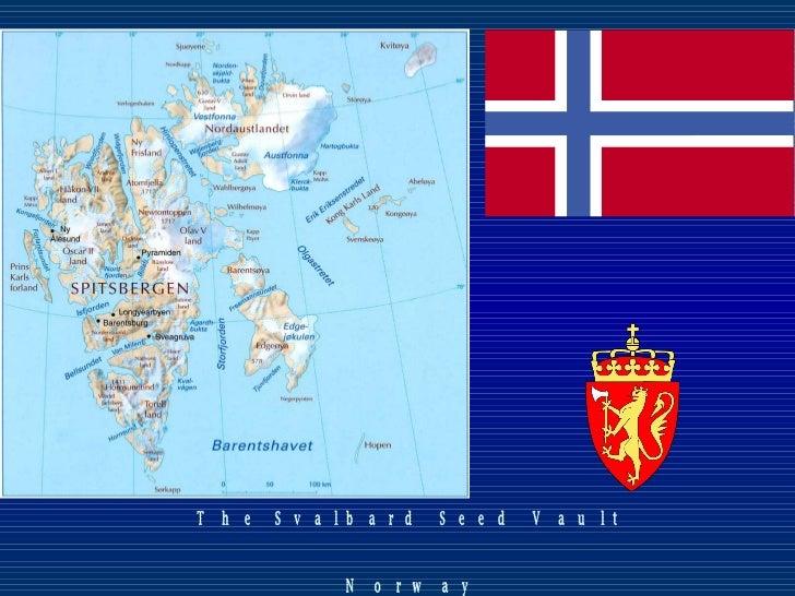 The Svalbard Seed Vault Norway