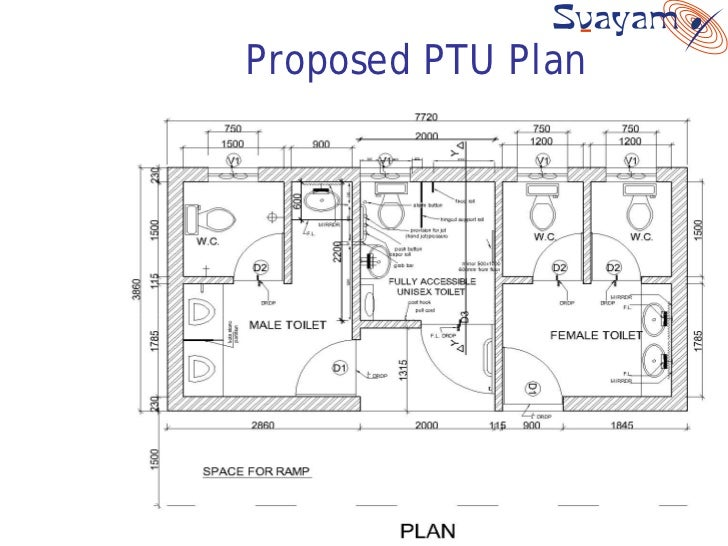 Public Toilet Design Layout on Office Cubicle Layout Dimensions